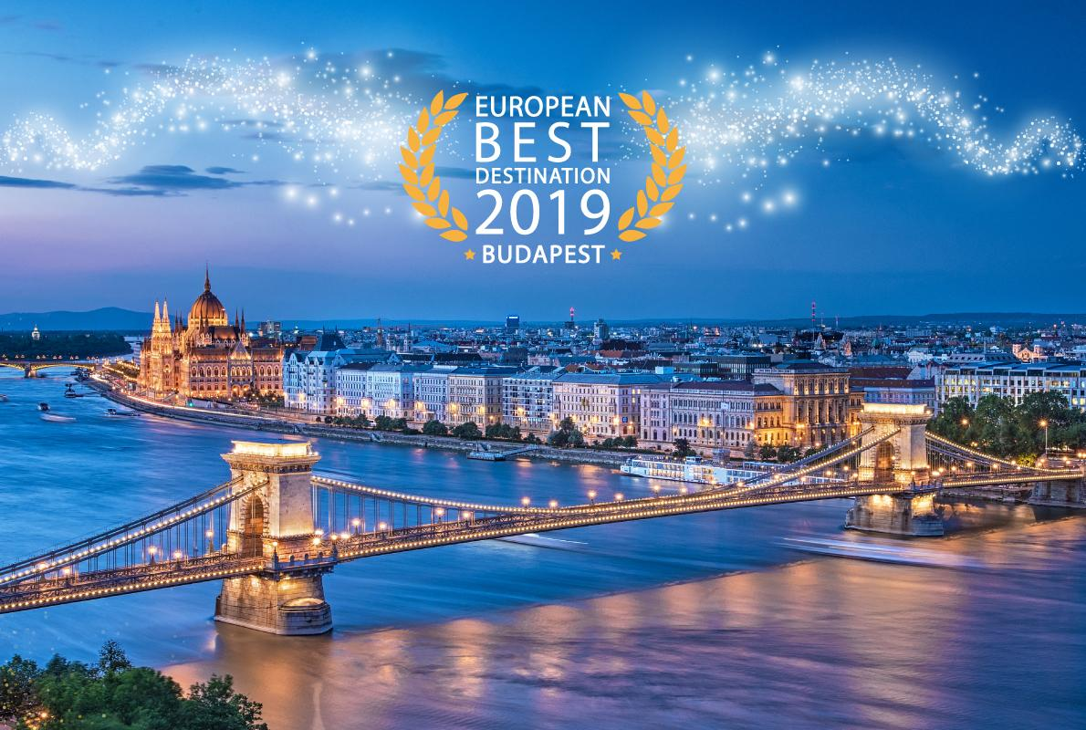 Beautyful Places Destination: Budapest Wins Best European Destination 2019 Title