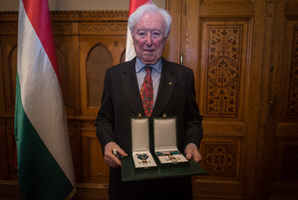 President of Danube Institute John O'Sullivan Awarded with Hungarian Order of Merit post's picture