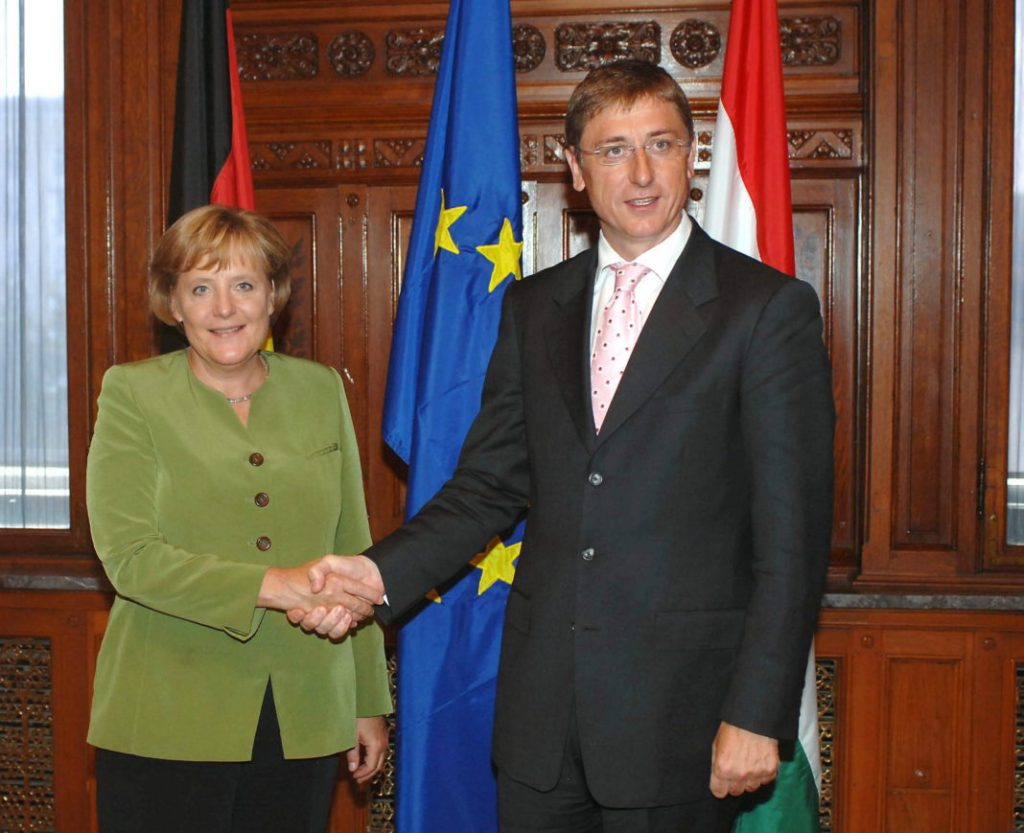 Former PM Gyurcsány Blames Merkel for Passivity Toward Orbán in Letter post's picture