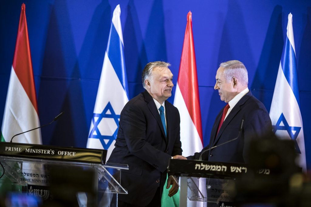 Orbán in Israel: EP Elections' Goal 'to Rein in Anti-Semitism in Europe' post's picture