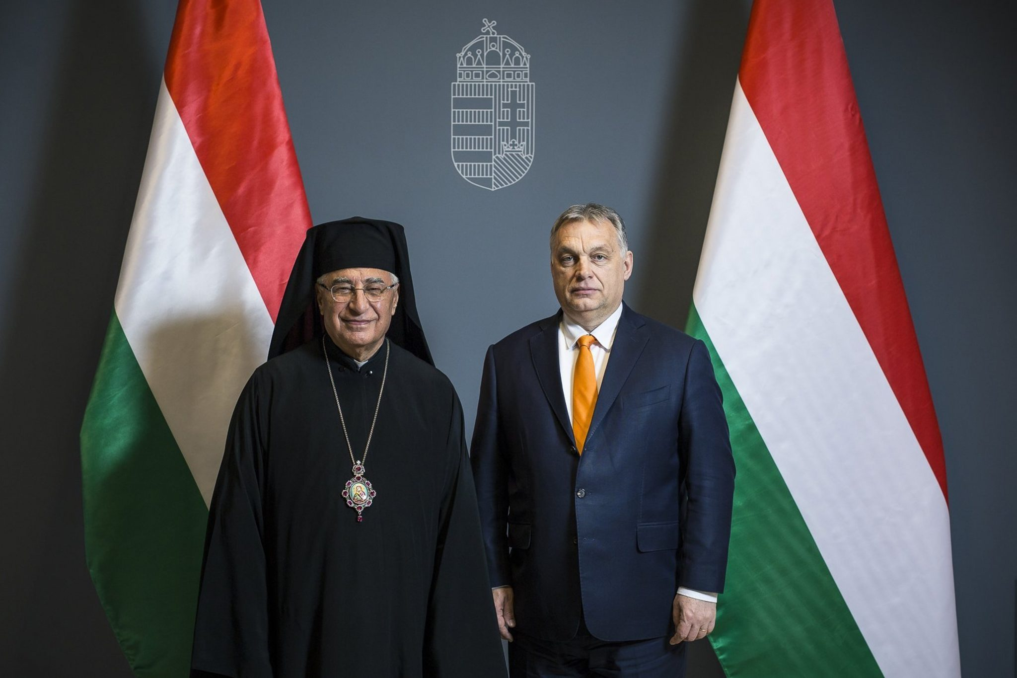 Patriarch of Melkite Greek Catholic Church Expresses Appreciation for Hungary's Solidarity post's picture