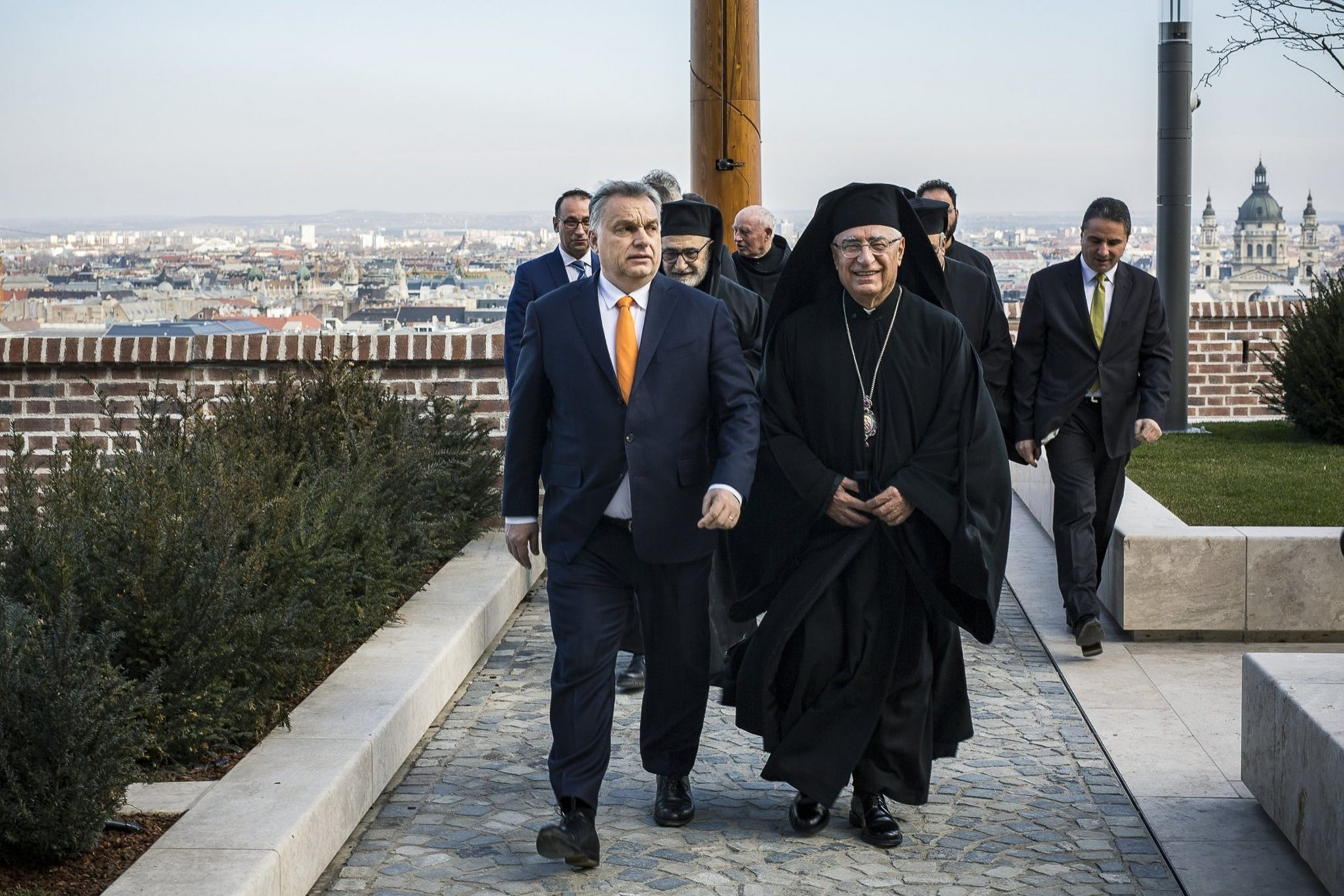 PM Orbán Holds Talks with Patriarch of Melkite Greek Catholic Church post's picture