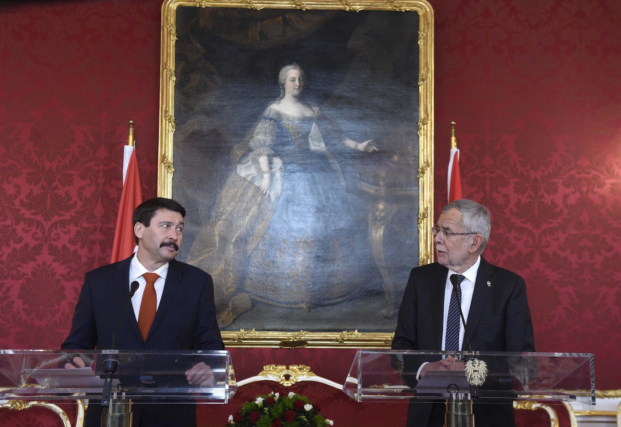 President Áder Lauds Hungary-Austria Economic Ties post's picture