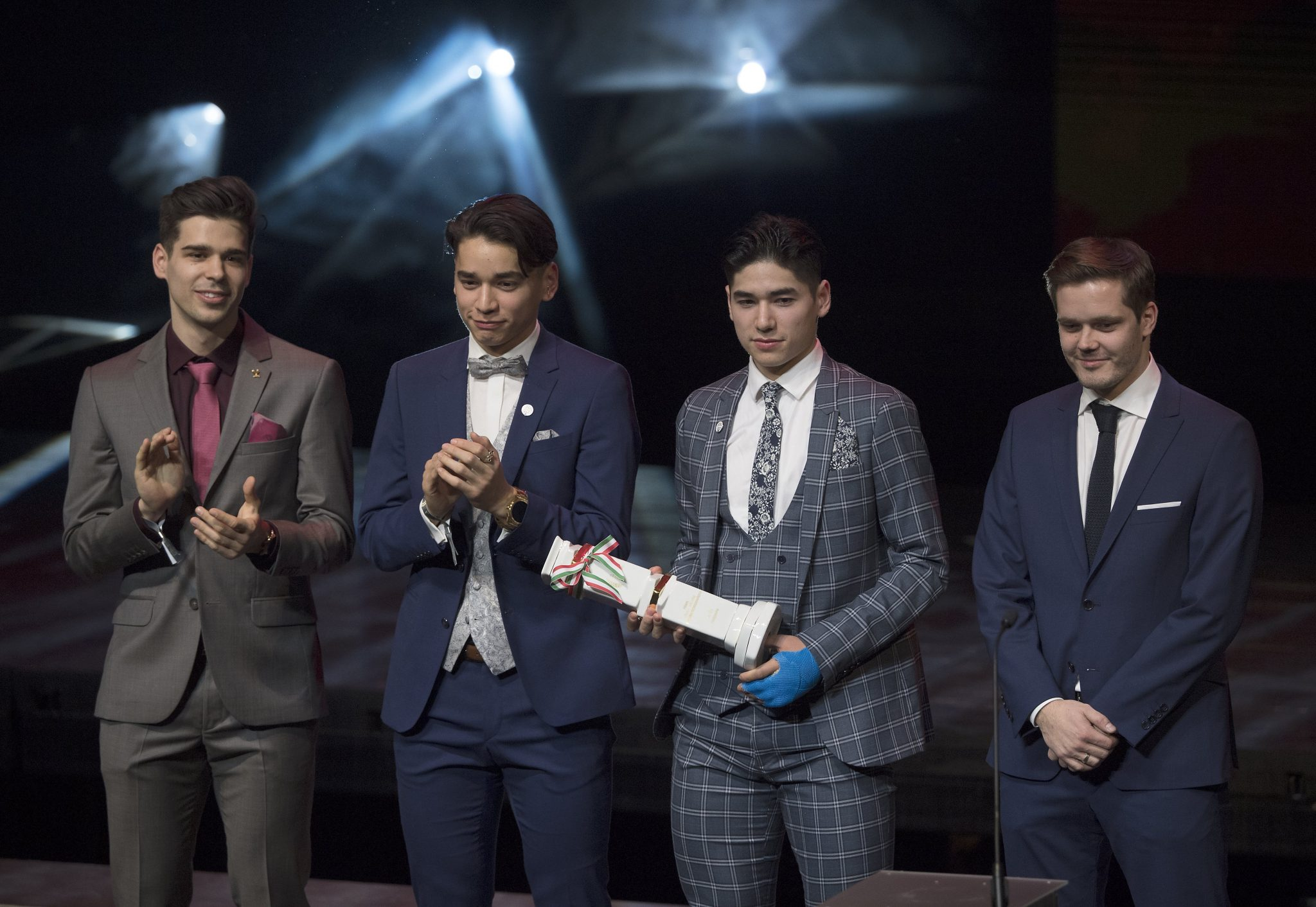 Speed Skaters Reign at Sportsman of theYear Gala post's picture