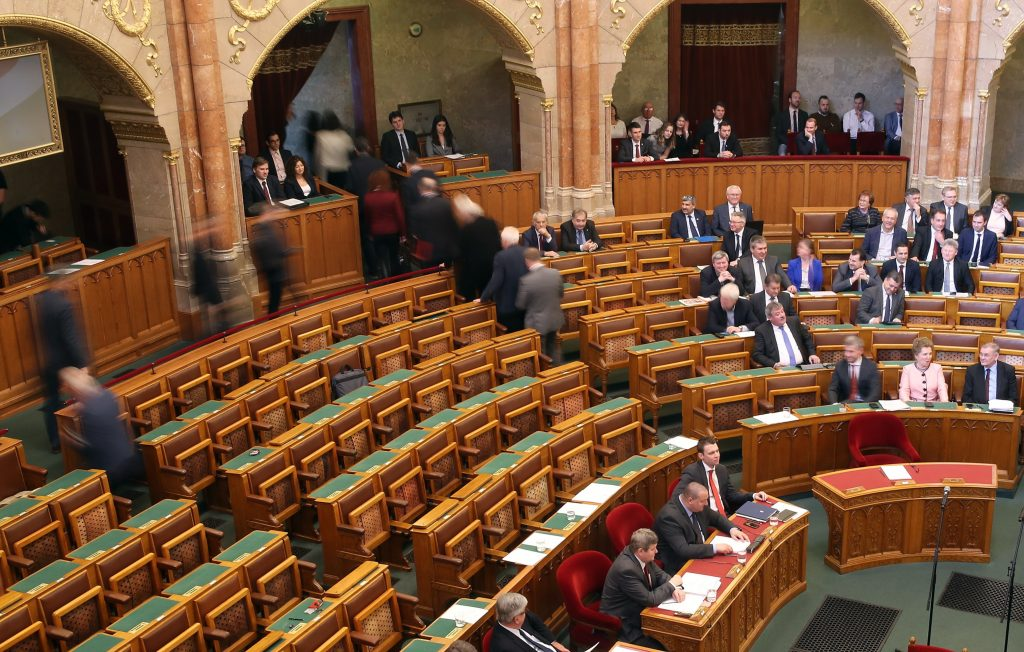 Parliament's Spring Season Opens with Opposition MPs Boycotting Session post's picture