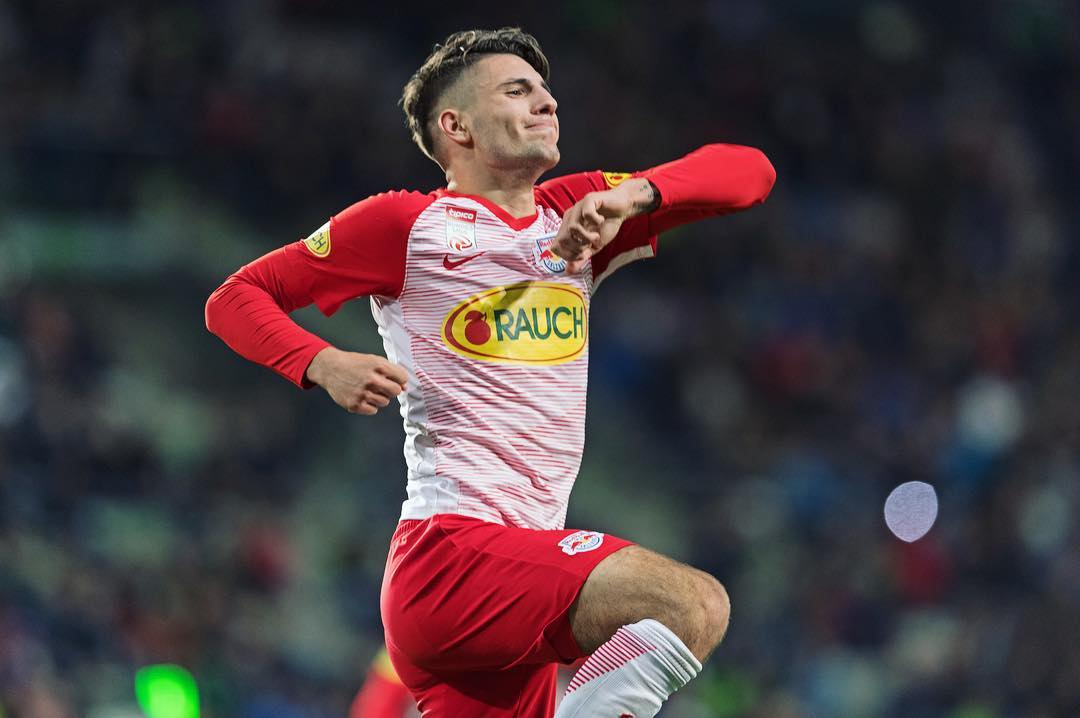 Hungarian Prodigy Scores First League Goal in Shoes Featuring Hungarian Cockade post's picture