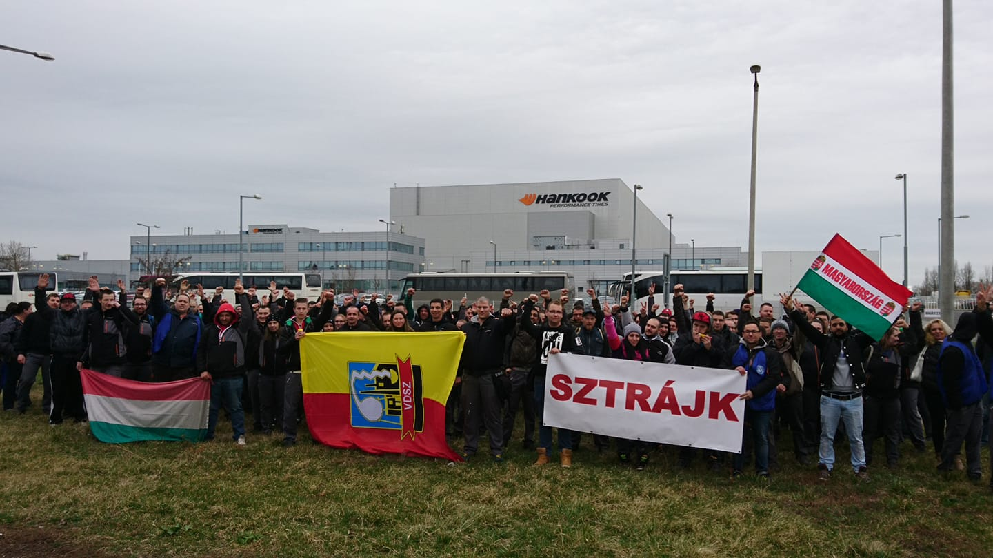 Hankook Tire Workers, Management Reach Deal on Pay, Ending Strike post's picture