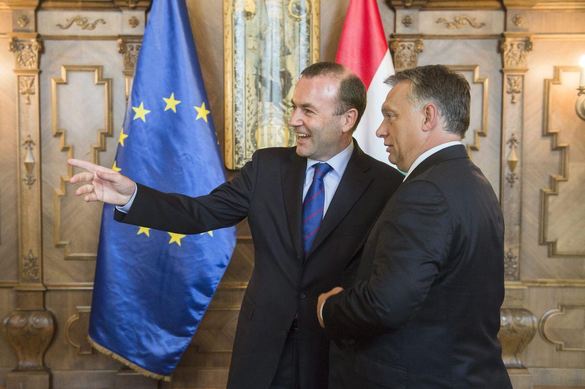 Weber Increases Pressure on Fidesz post's picture