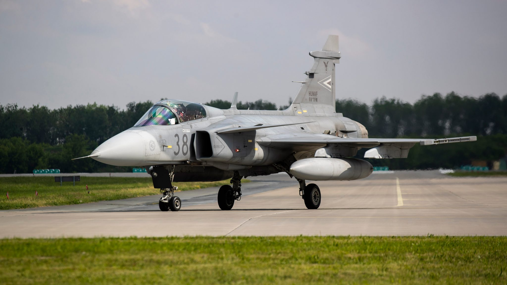 Hungary Air Force Incident: Gripen Damaged during Live-fire Exercise post's picture
