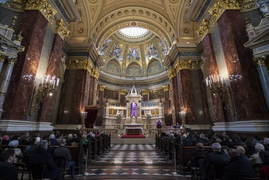 János Esterházy Commemoration Held in St. Stephen's Basilica post's picture
