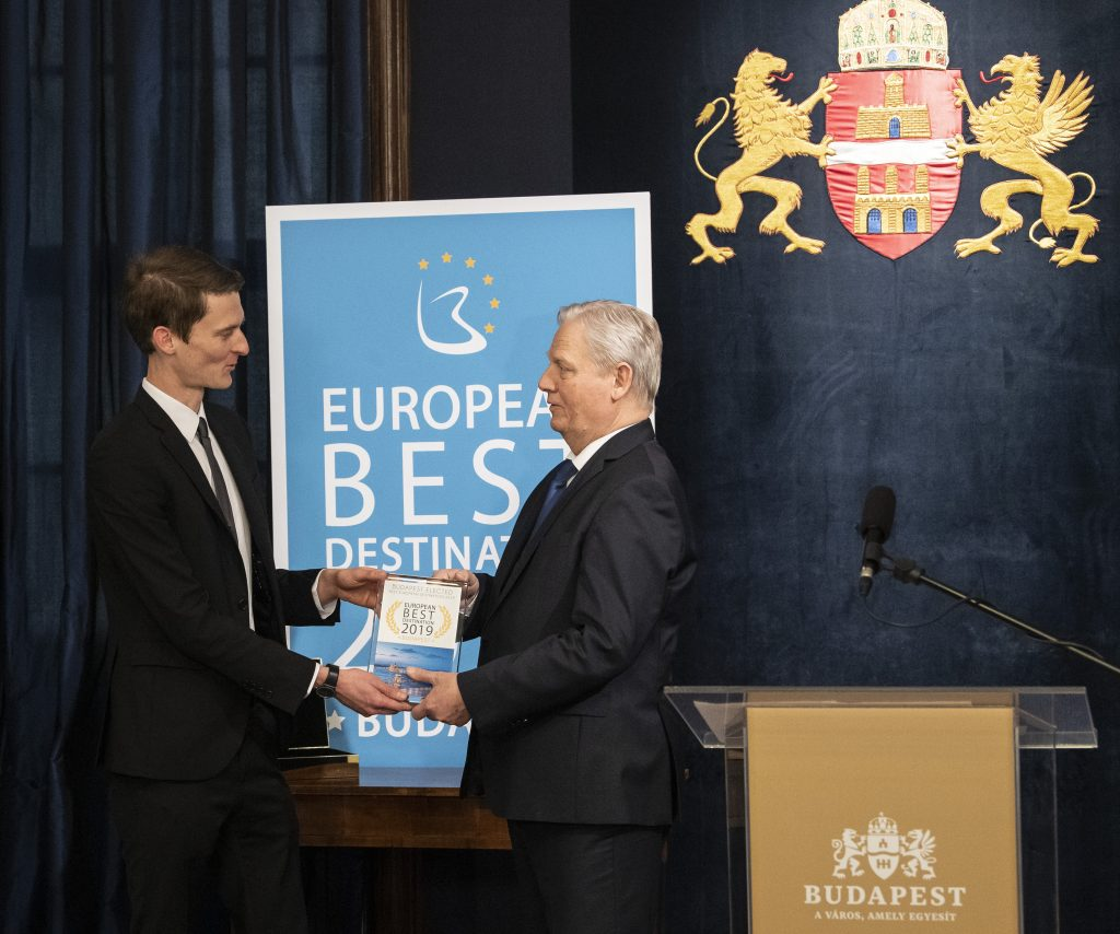 Budapest Receives European Best Destination 2019 Award post's picture