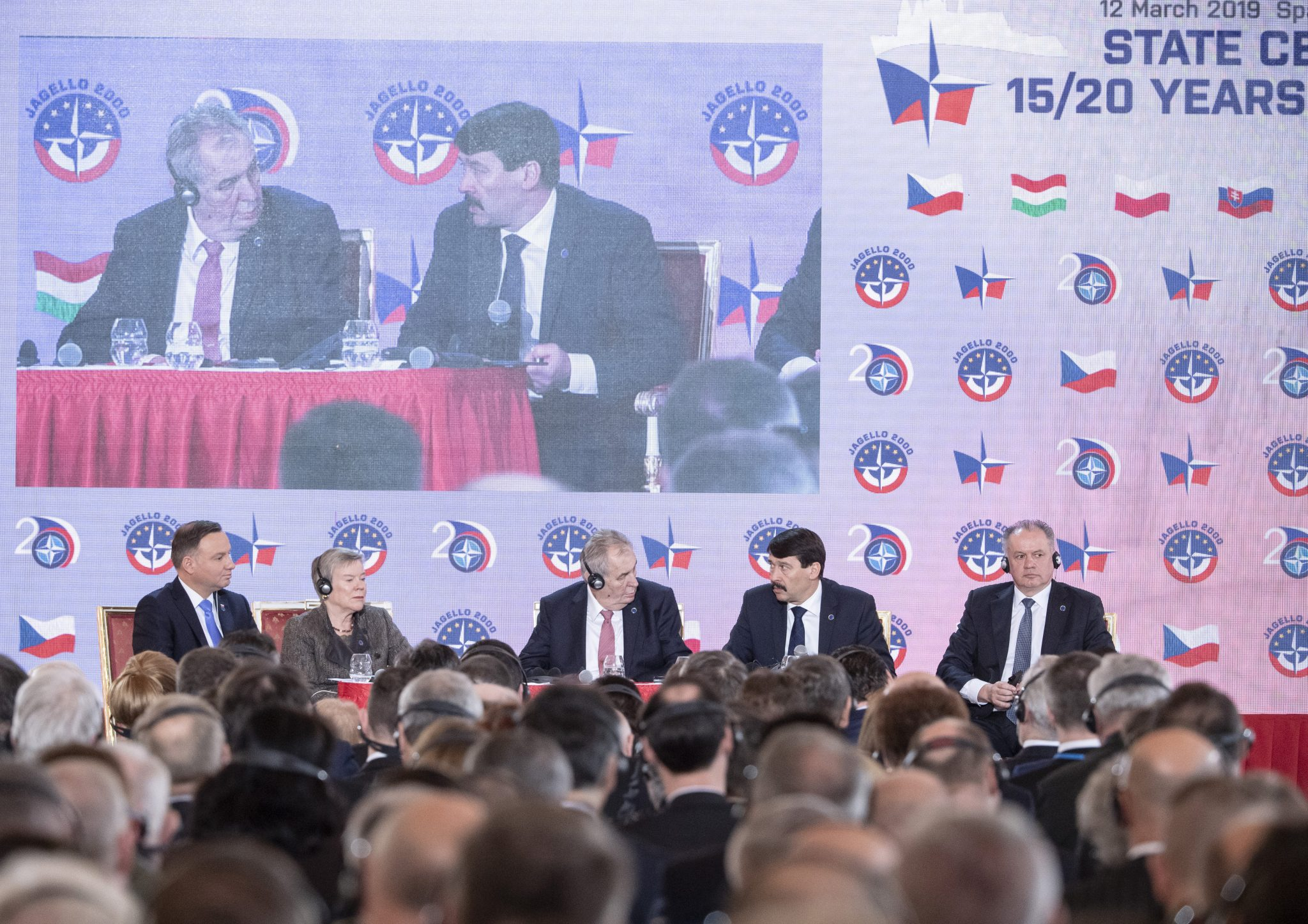 Áder Addresses NATO Celebration post's picture