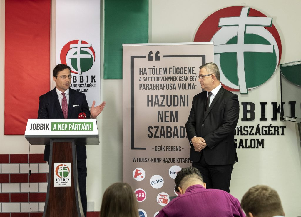 Jobbik Presents List for EP Elections post's picture