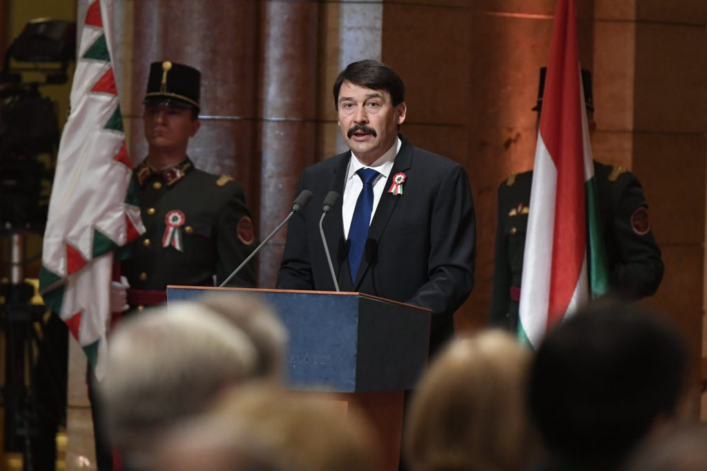 March 15: President Áder Urges Unity 'Against Common Enemy' Coronavirus post's picture