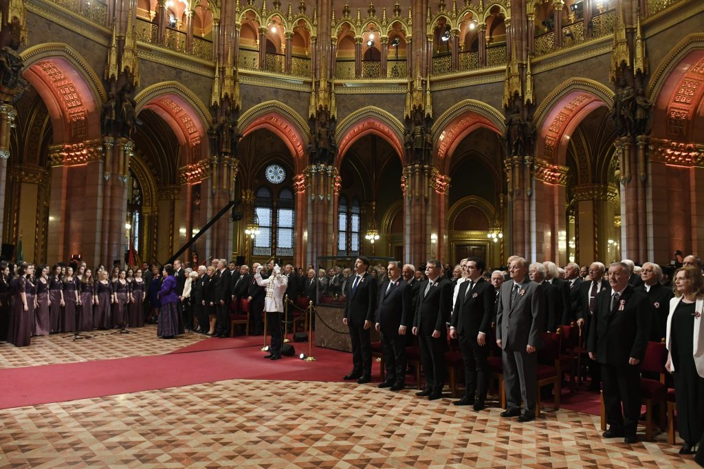 March 15: President Áder Presents High State Awards post's picture
