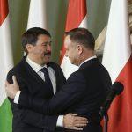 Áder Congratulates Polish Counterpart Duda on Re-election