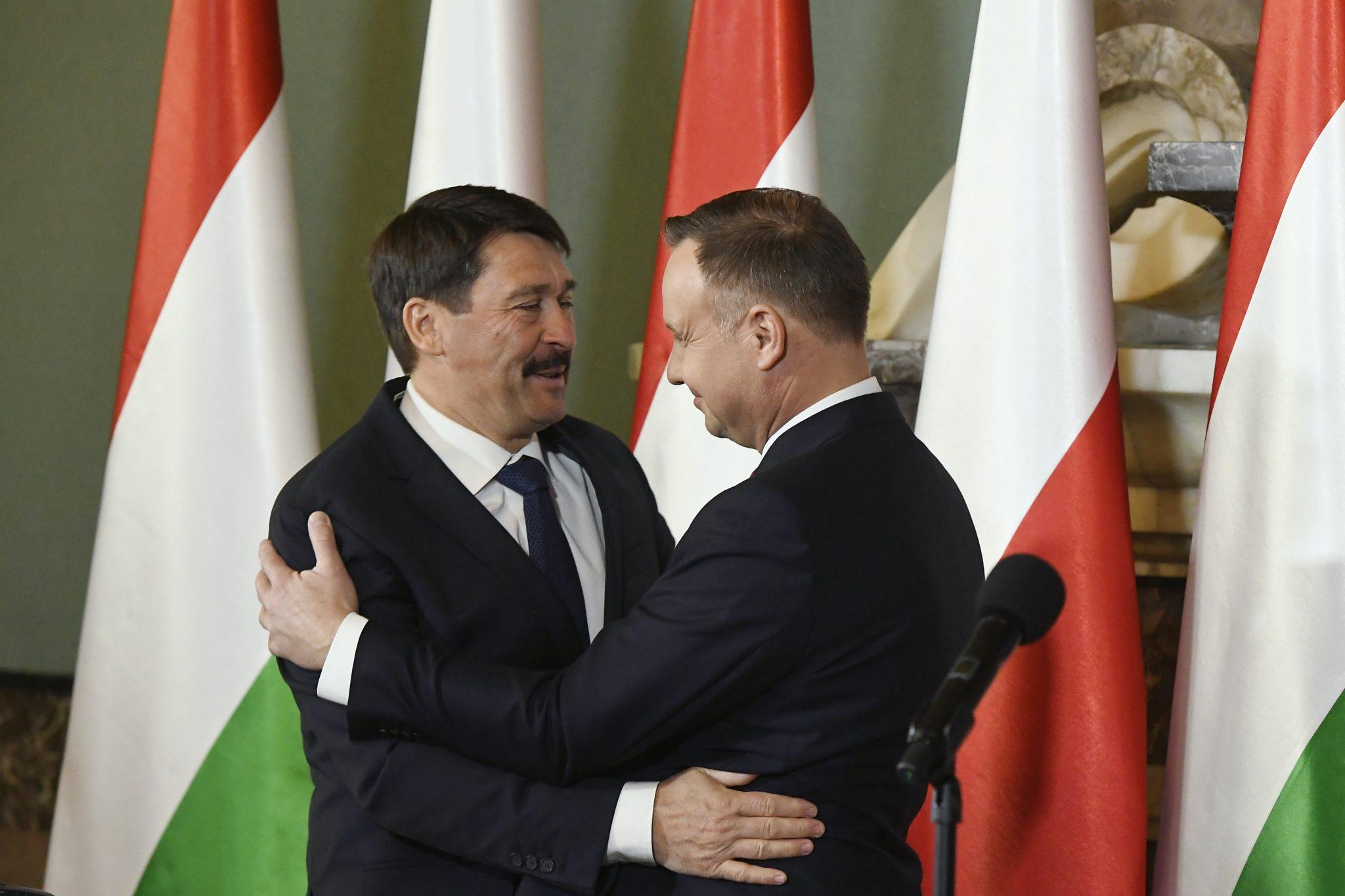 Áder Congratulates Polish Counterpart Duda on Re-election post's picture