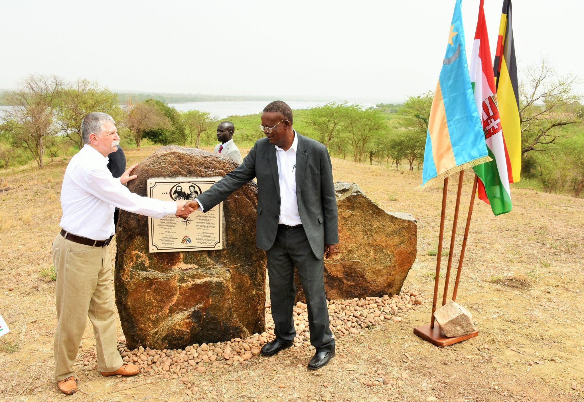 Memorial Plaque to Hungarian Explorer Flóra Sass Inagurated in Uganda post's picture
