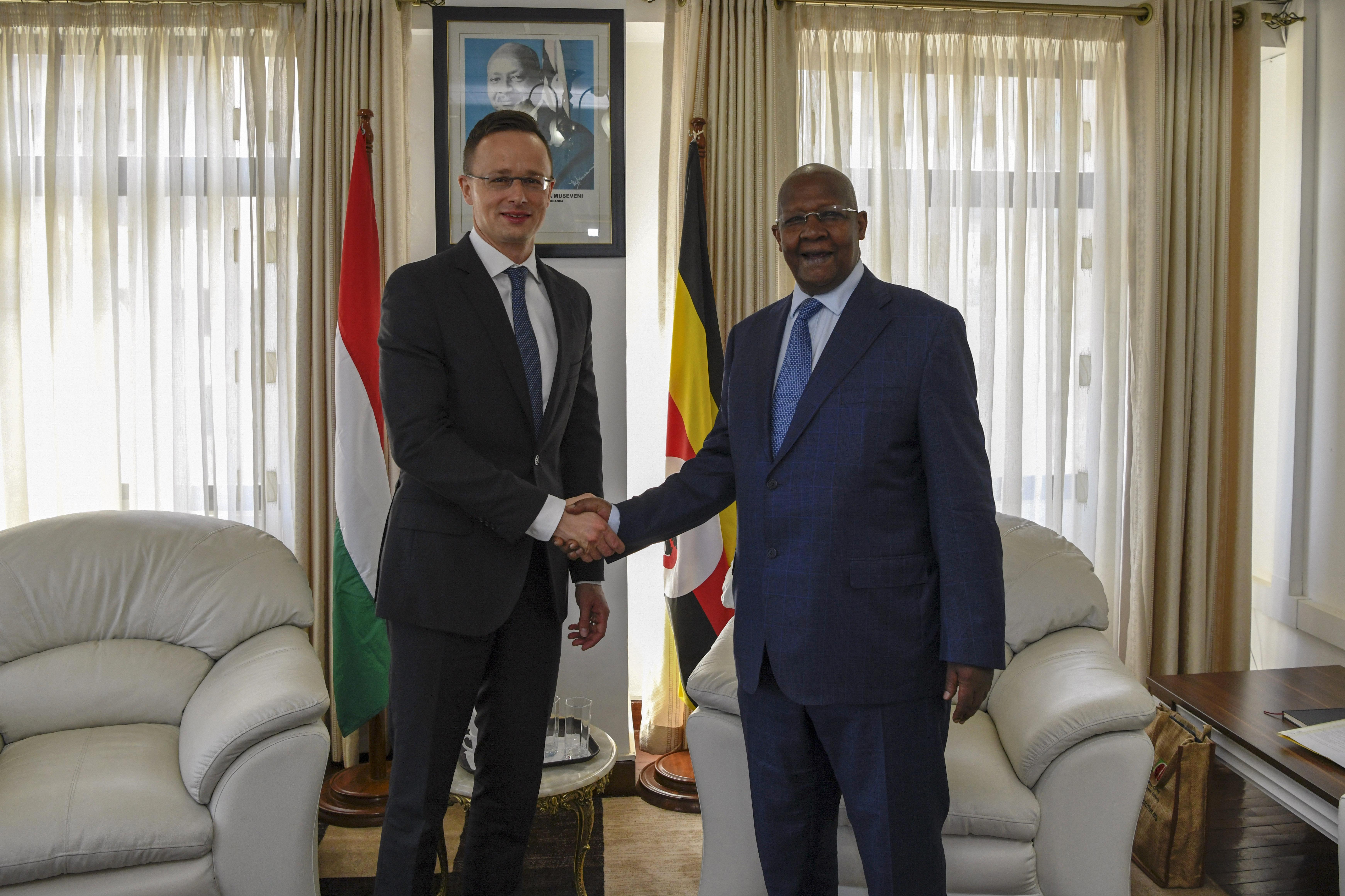 Szijjártó Discusses Major Investment Programme in Uganda post's picture