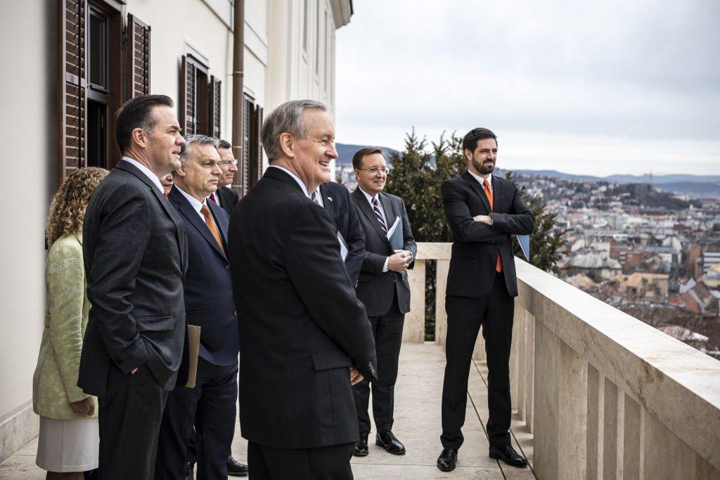 PM Orbán Meets US Congress Delegation post's picture