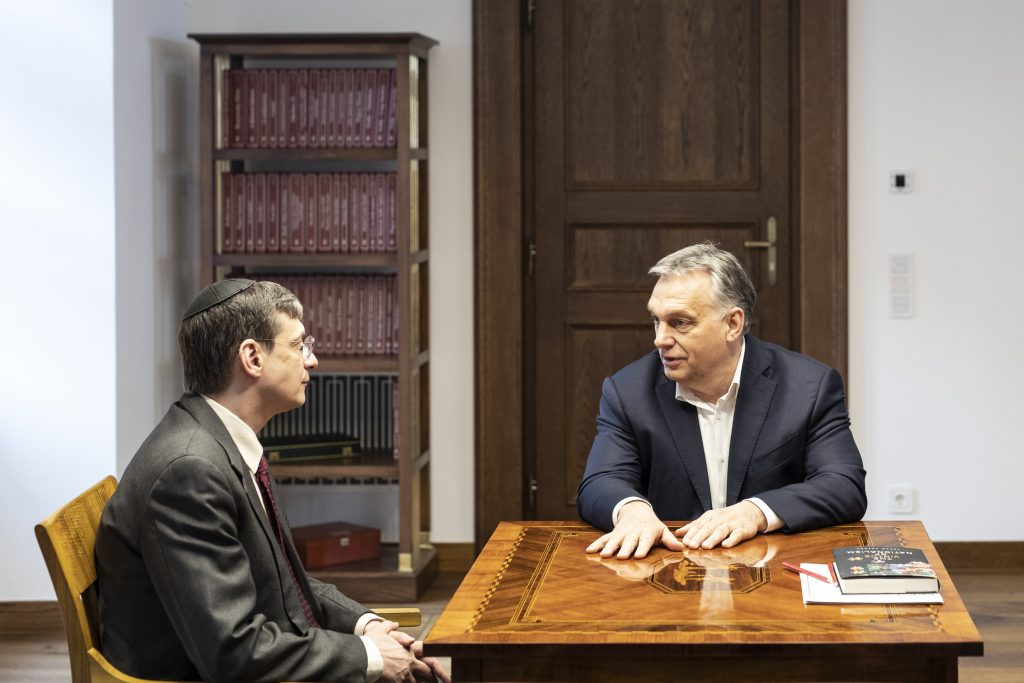 Orbán Meets Israeli Philosopher Yoram Hazony post's picture