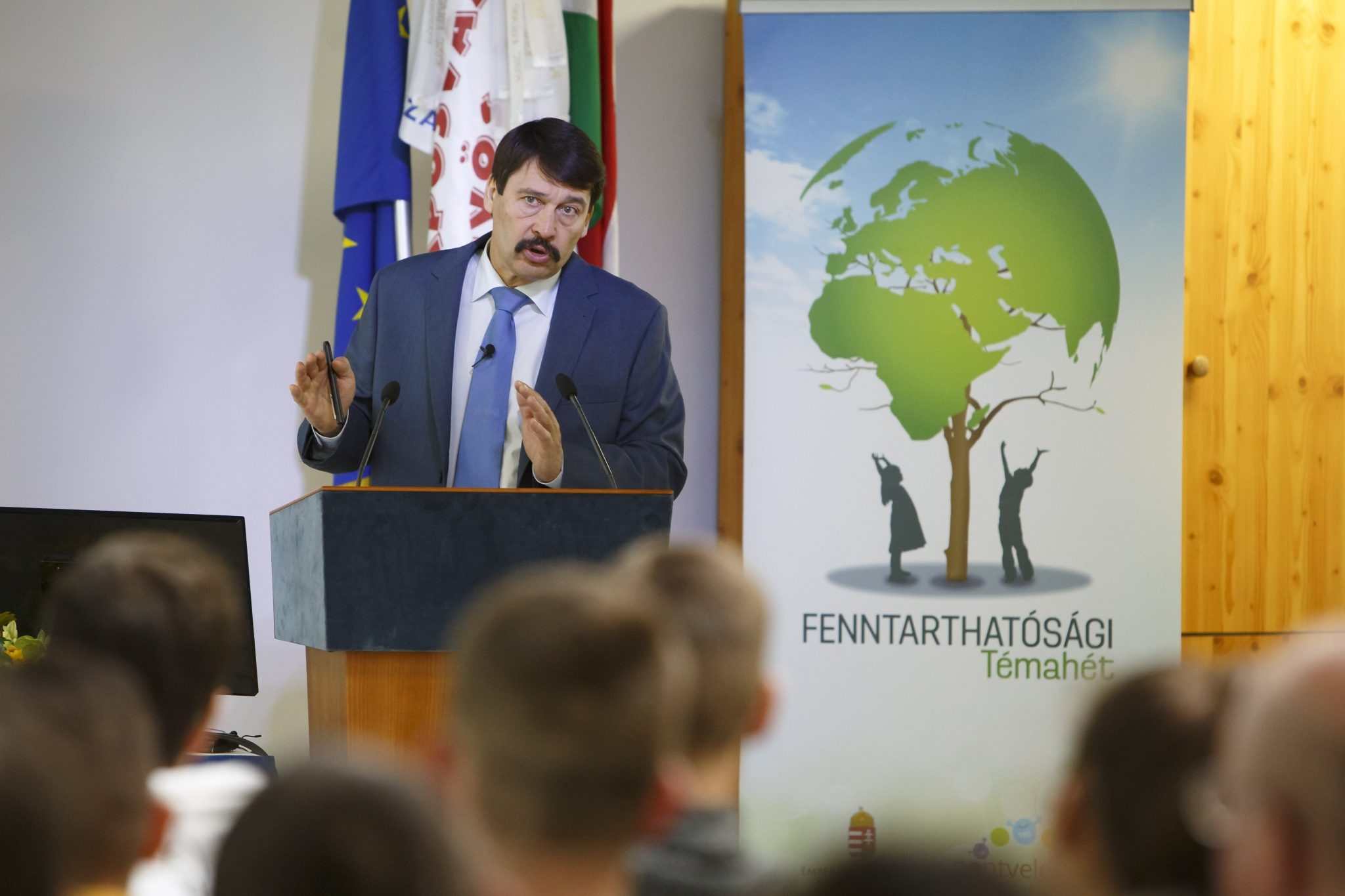 President Áder: 'Further Delays Could Make Climate Situation Much Worse in 5-10 Years' post's picture