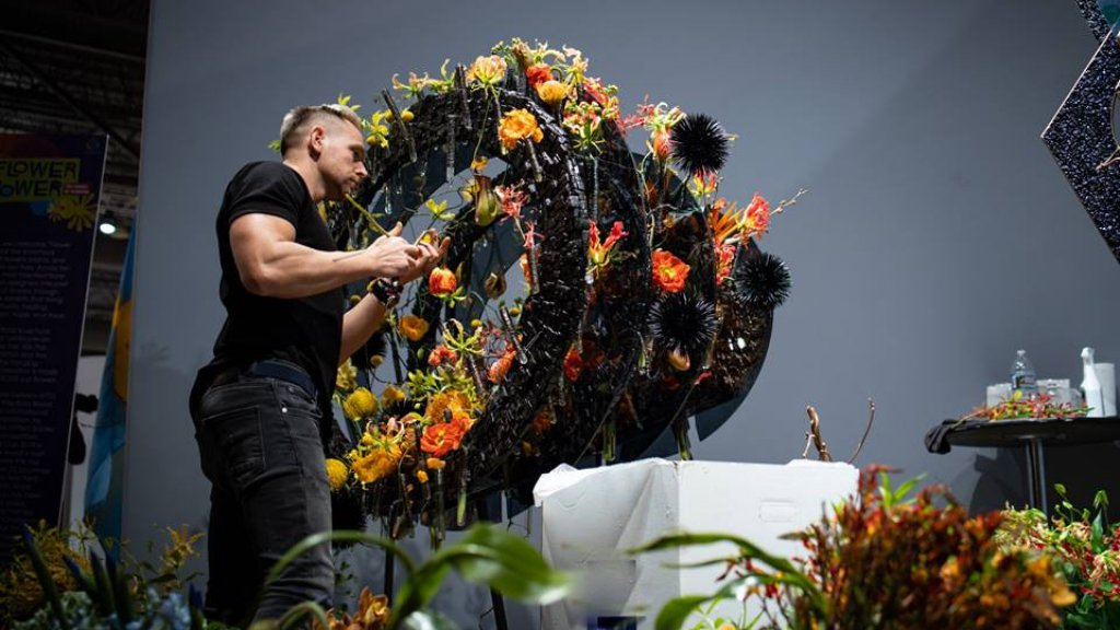Hungarian Florist Finishes Third in the Interflora World Cup 2019 post's picture