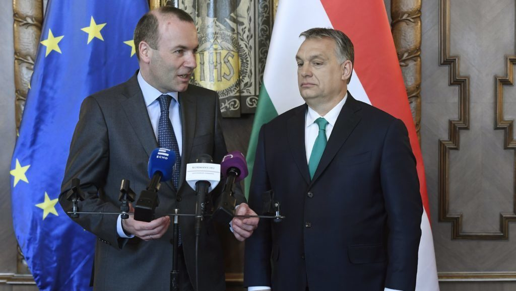 Weber Proposes Talks with Orbán post's picture