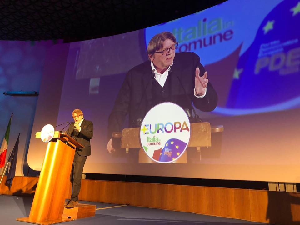 "Guy Verhofstadt: ""Evil and Autocracy"" Reign in Hungary post's picture"