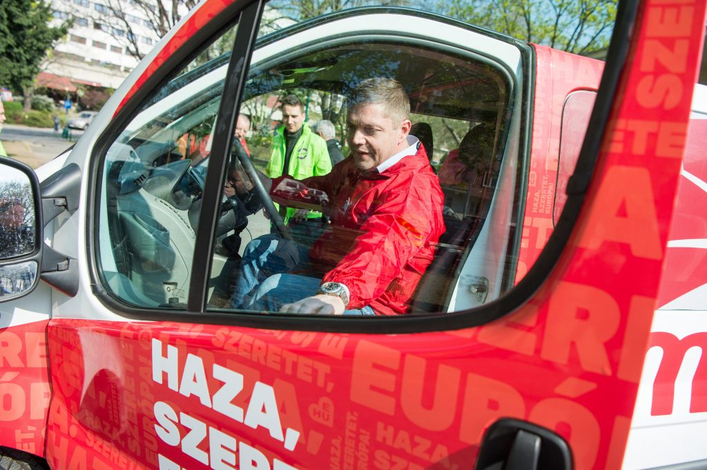 Socialists-Párbeszéd Launches EP Election Campaign post's picture