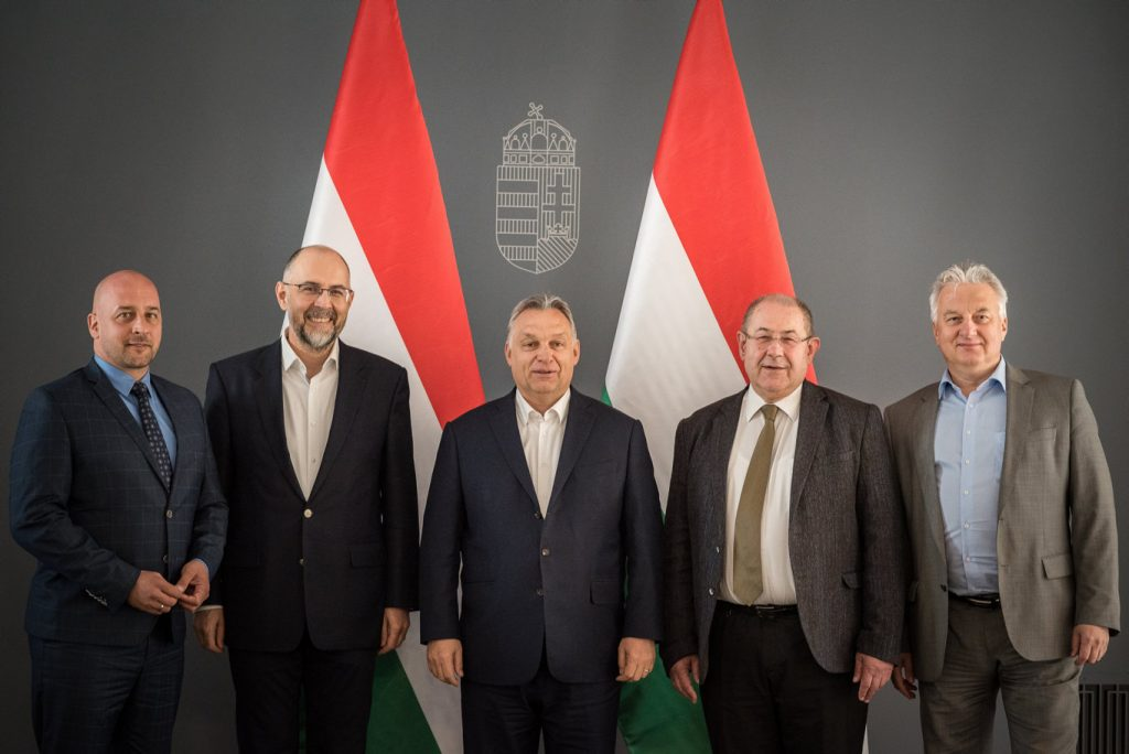 Orbán Holds Talks with Hungarian EPP Members post's picture