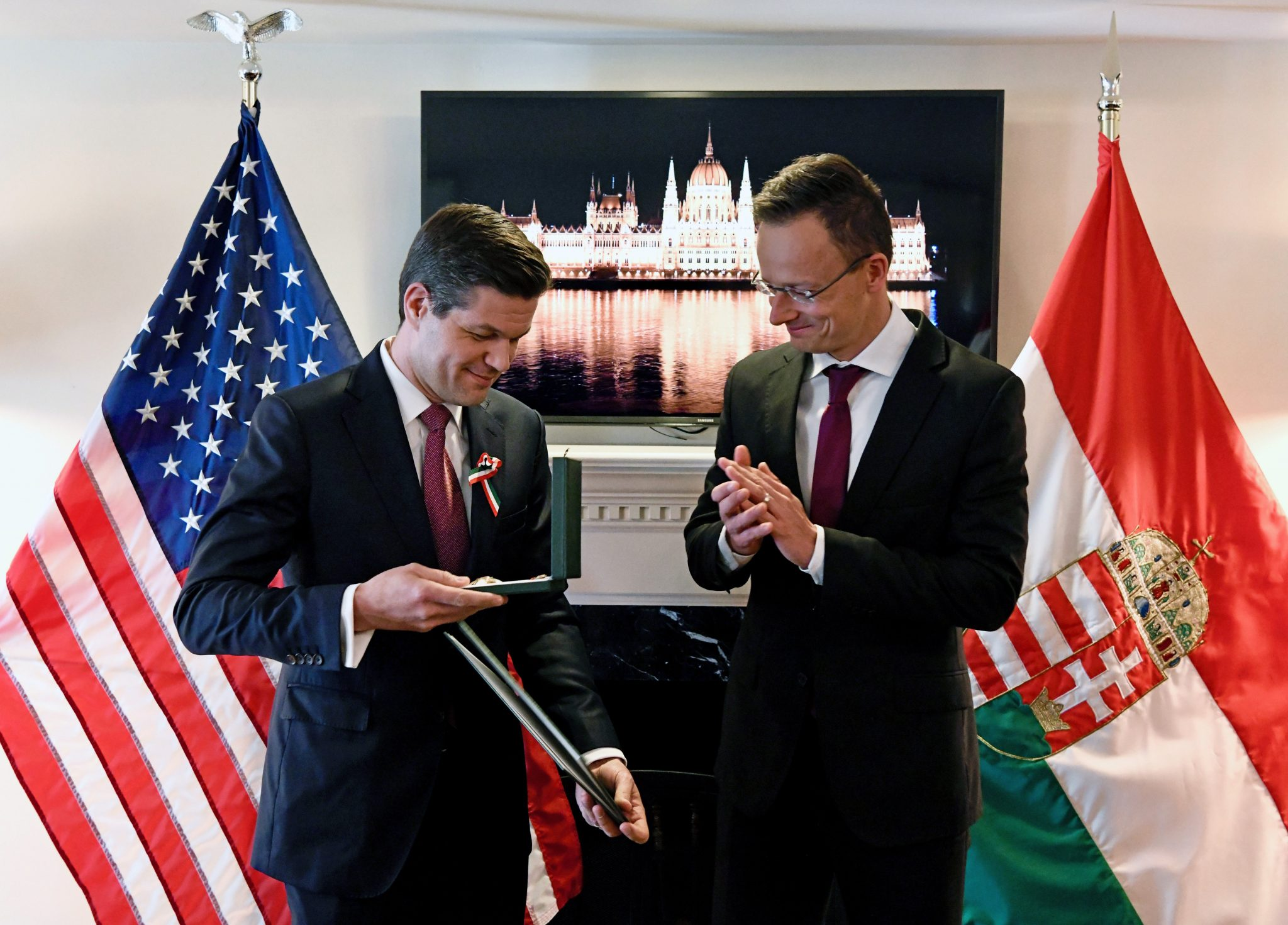 Foreign Minister Decorates Former US State Dept Official Mitchell post's picture