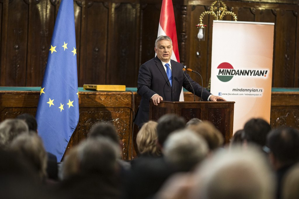 Orbán: Fidesz Only Force Able to Represent Hungarians in Brussels post's picture