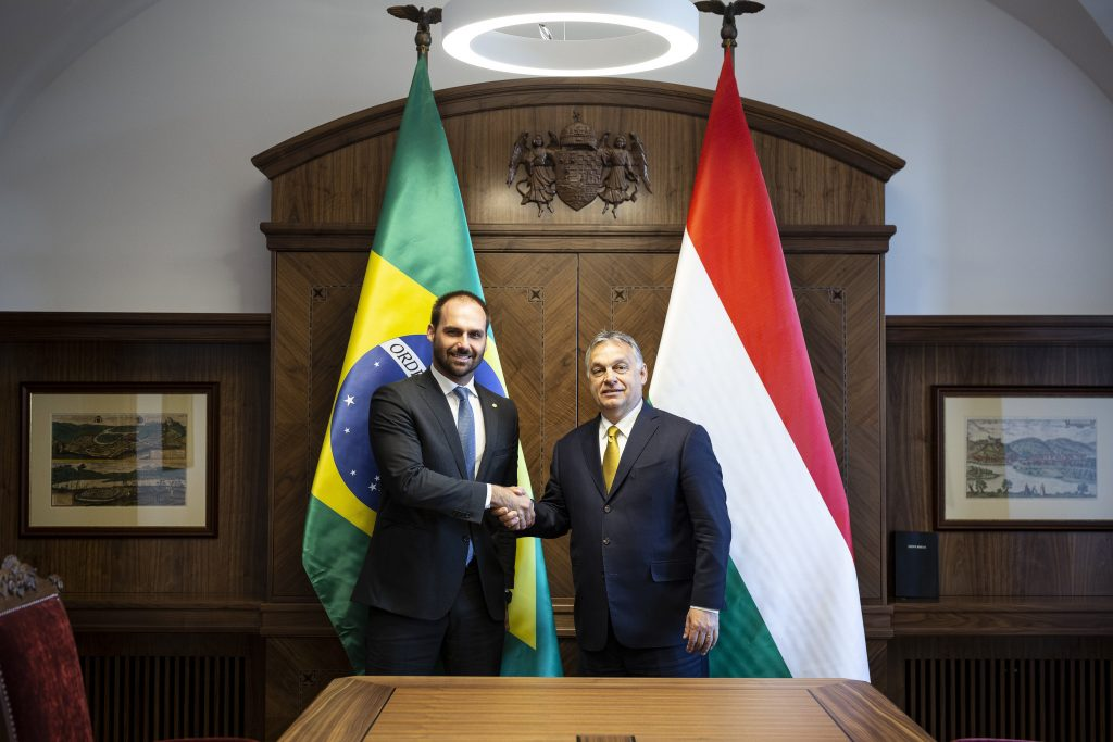 PM Orbán Discusses Migration, Economic Ties with Leading Brazilian Politician post's picture