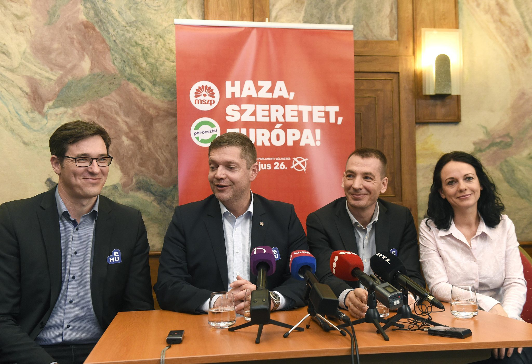 EP Elections: Socialists-Párbeszéd Launches Billboard Campaign post's picture