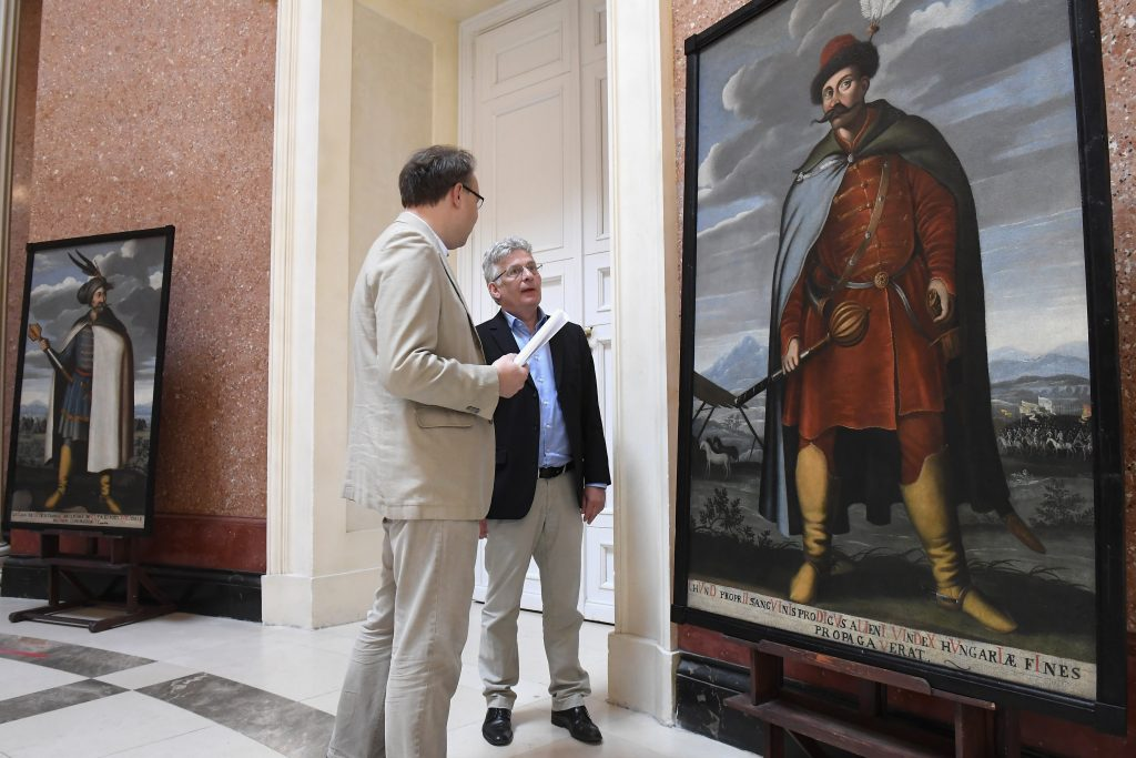 New Exhibition Opens Showcasing Portraits of Hungarian Chieftains post's picture