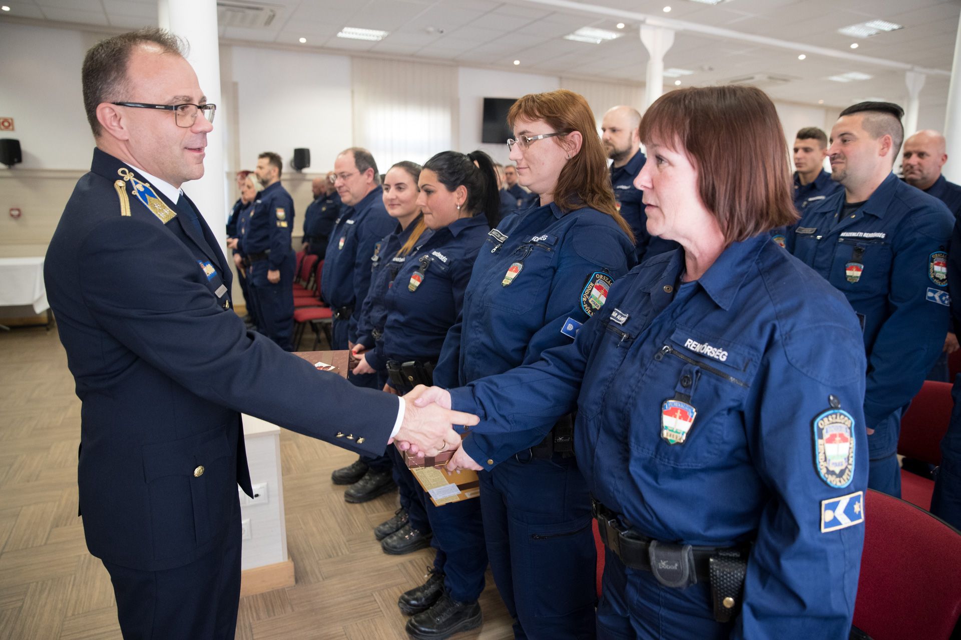 Hungarian Police Units Leave for Serbia, North Macedonia post's picture