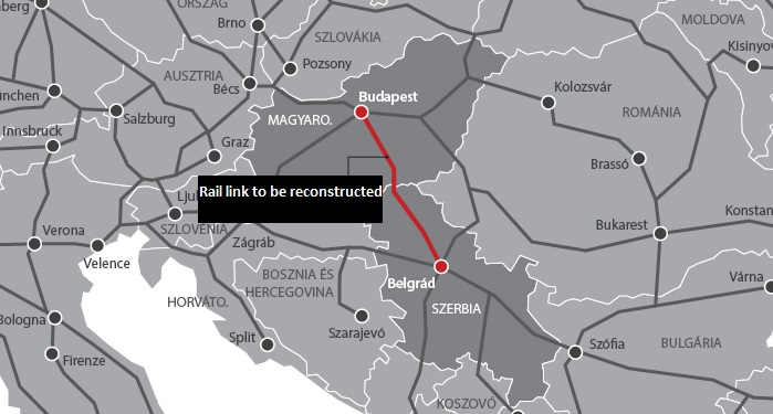 Govt Applies for Chinese Loan, Budapest-Belgrade Rail Construction about to Start post's picture