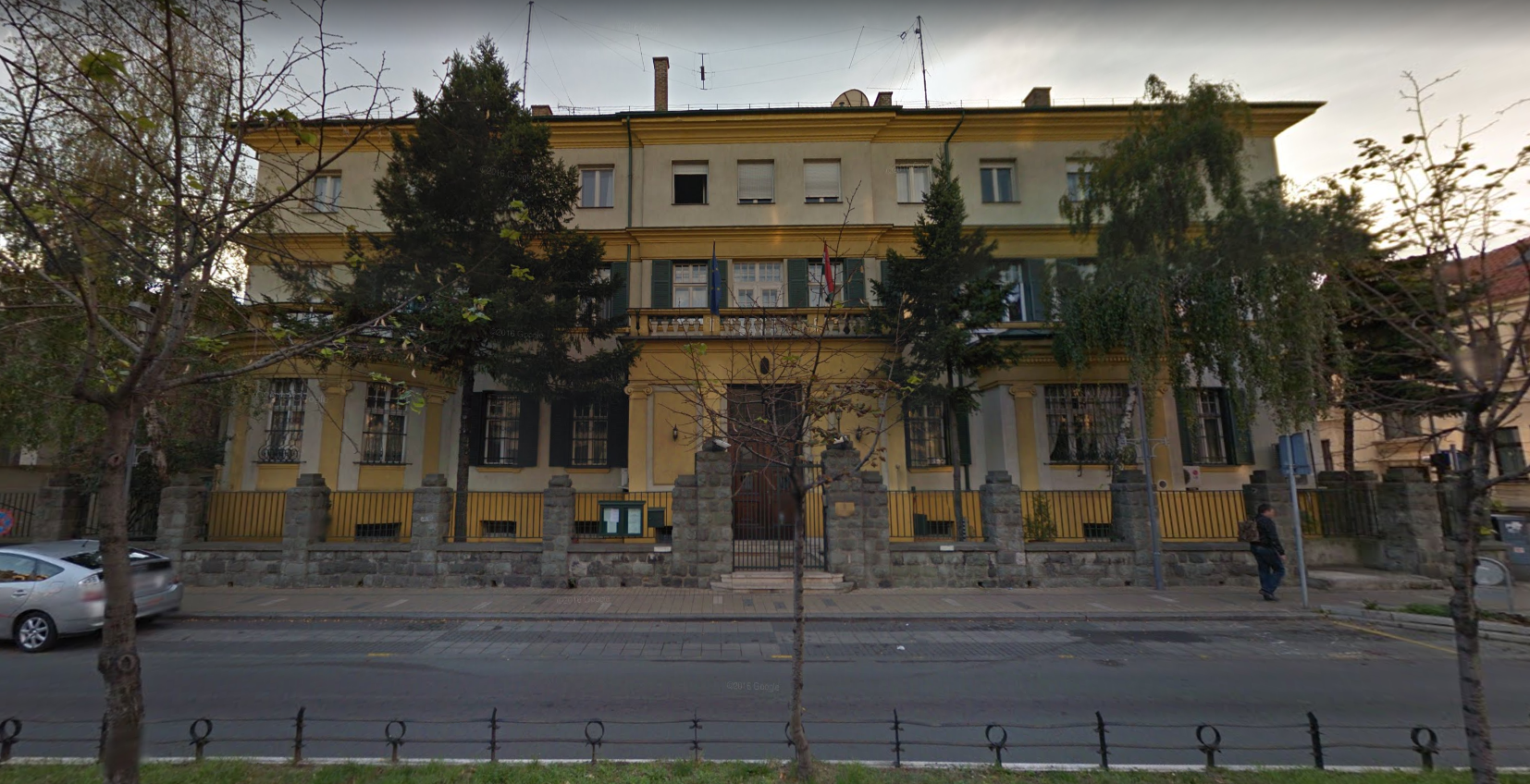 Hungarian Embassy in Belgrade Defaced With Swastikas post's picture