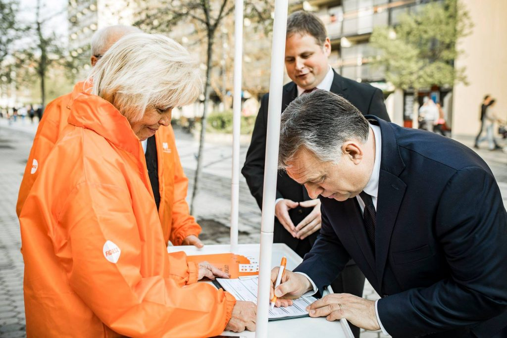 Fidesz's EP Elections: Migration, Soros and an Outstanding Chance of Victory post's picture