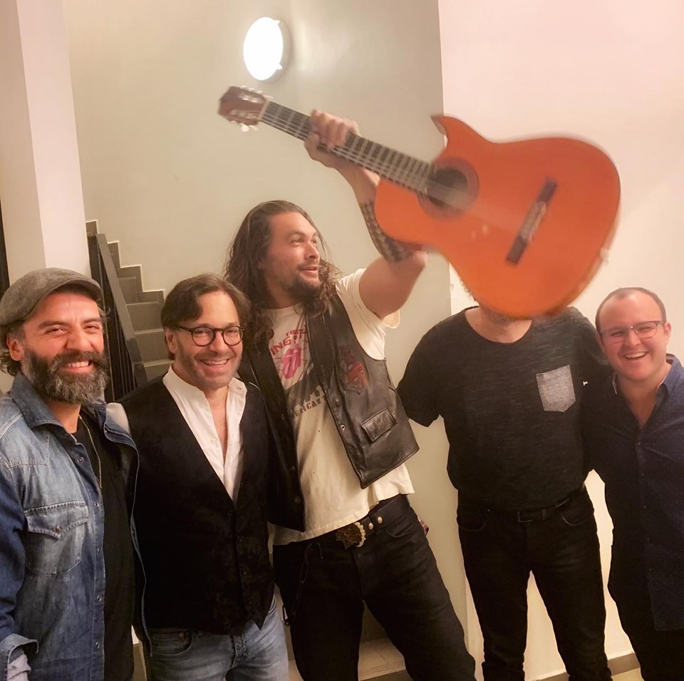 Hollywood Stars Explore Budapest And Attend Al Di Meola