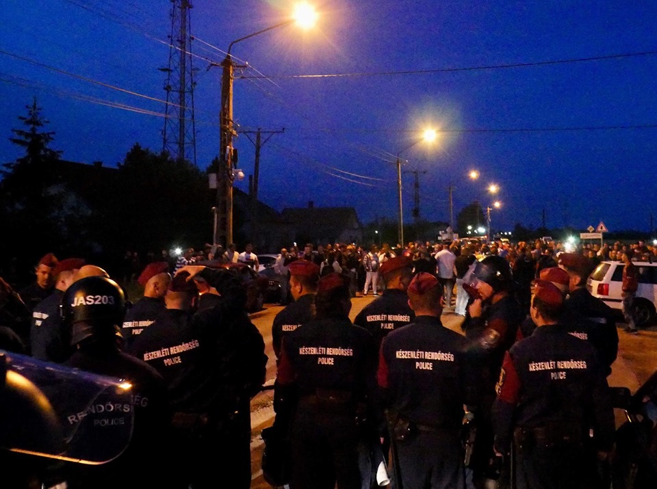 Far-Right Demo in Törökszentmiklós: Heavy Police Presence and Tension Without Violence post's picture