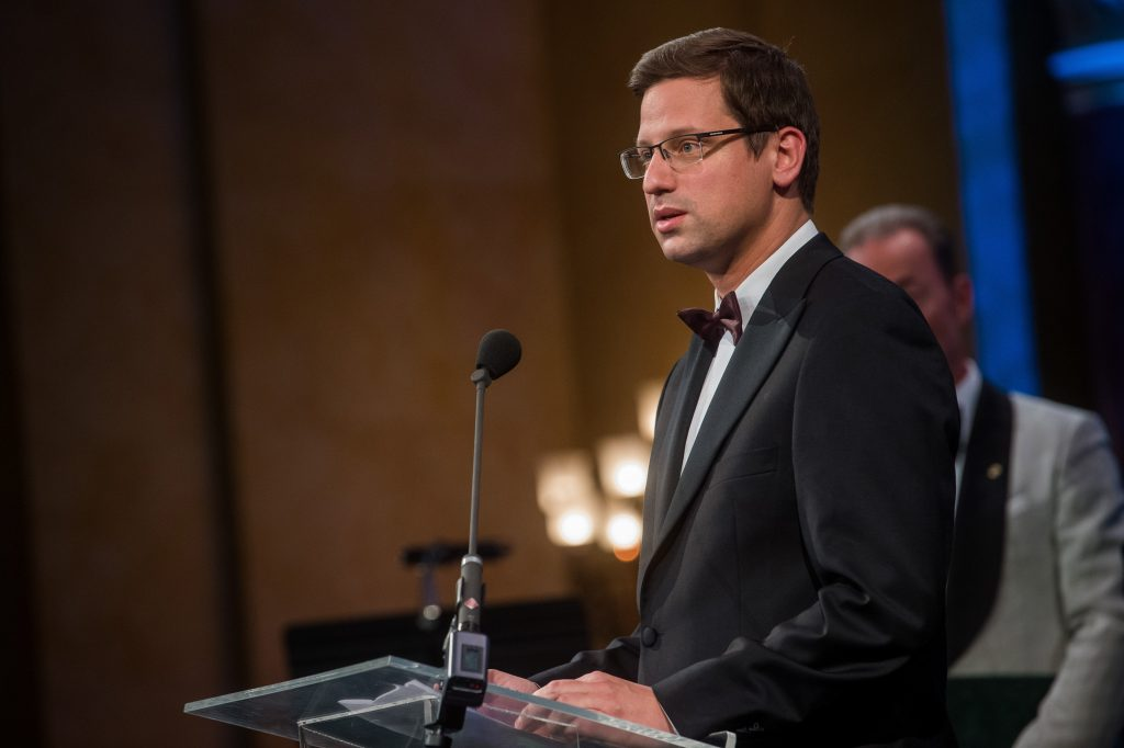German-Hungarian Friendship Award Goes to PMO Head Gergely Gulyás post's picture