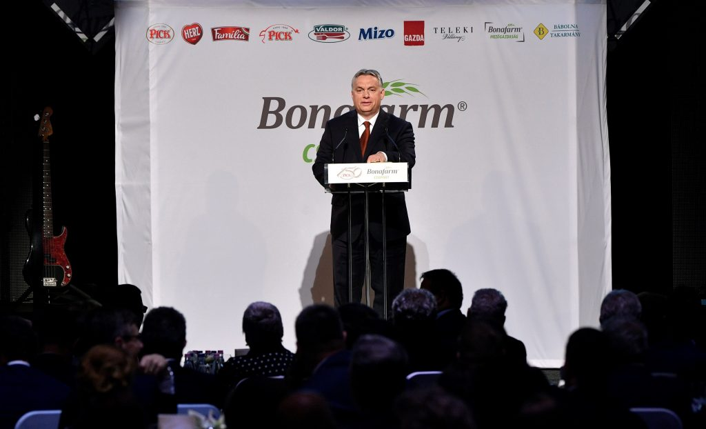 "Orbán at Pick Gala: 'Hungarian Capital Has to Serve Hungarian Interests"" post's picture"