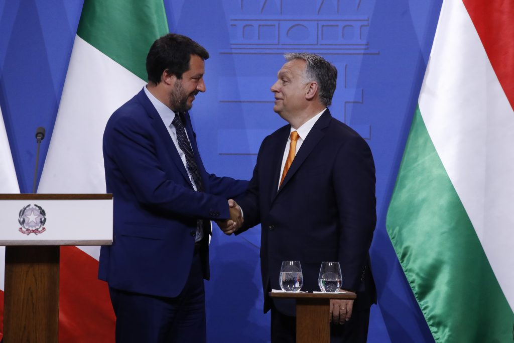 Orbán: Salvini 'Brother in Arms' post's picture