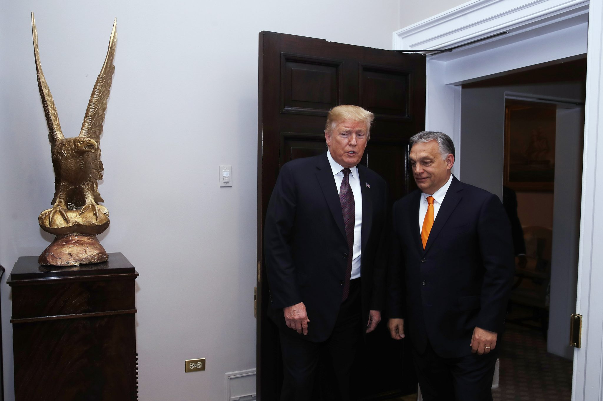 Foreign Minister: 'Mutual Sympathy' between Trump and Orbán post's picture