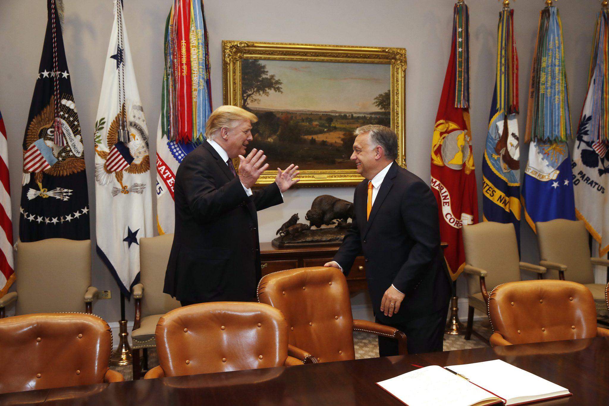 Âmes sœurs politiques: pourquoi Orbán soutient la réélection de Trump