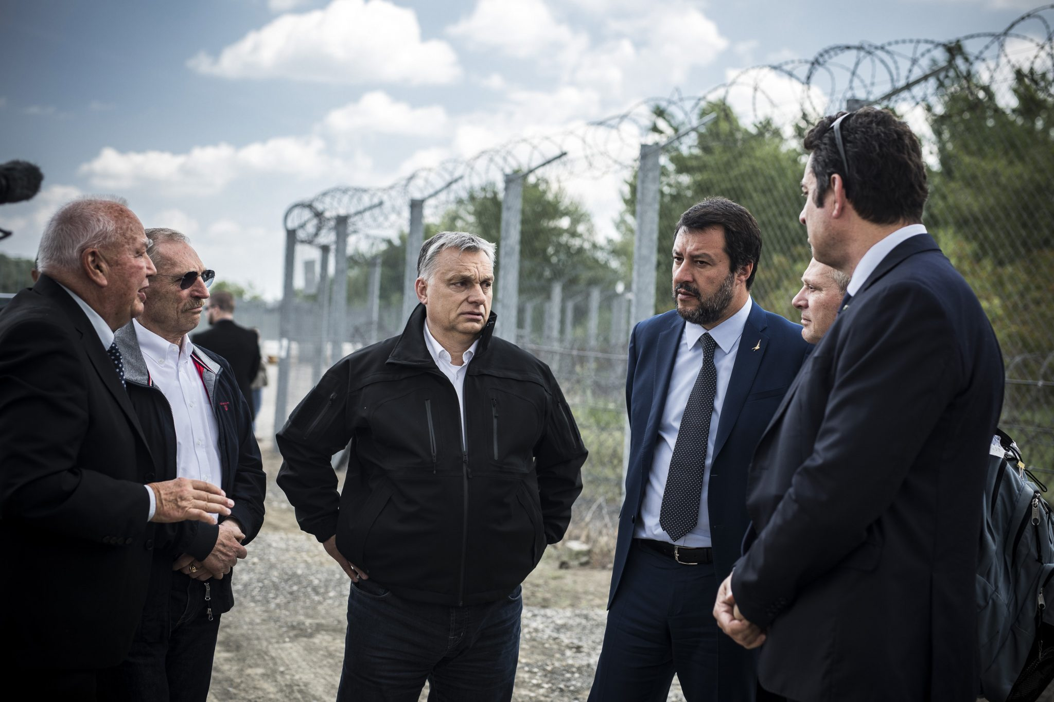 Orbán: V4 Partners Ready to Help Protect Hungarian Border post's picture
