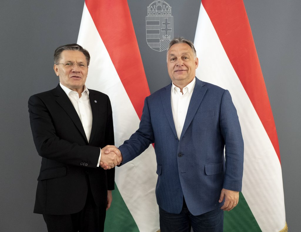 Orbán Discusses Paks Upgrade with Rosatom CEO post's picture
