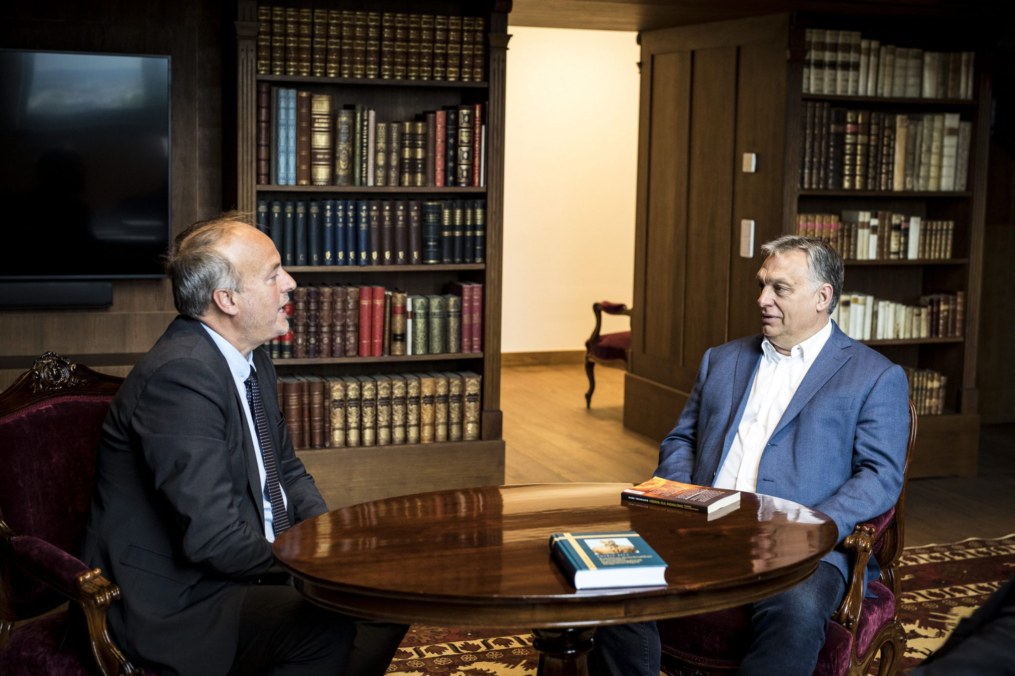 Orbán Discusses Persecuted Christians, Protection for Traditional Values with Christian Charity Head post's picture